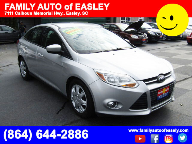used cars near me used fords family auto of easley 2012 ford focus se quick approval auto loans. Black Bedroom Furniture Sets. Home Design Ideas