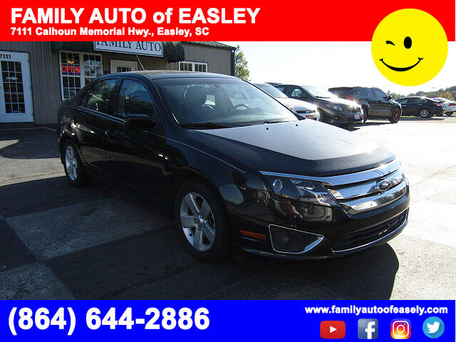 used cars used fords near me family auto of easley pre owned 2012 ford fusion bad credit no. Black Bedroom Furniture Sets. Home Design Ideas