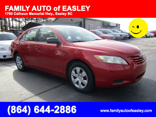 used cars used toyotas easley family auto of easley pre owned 2007 toyota camry bad credit no. Black Bedroom Furniture Sets. Home Design Ideas
