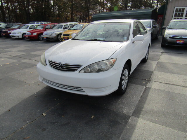 used cars used toyota easley family auto of easley 2005 toyota camry bad credit no credit quick. Black Bedroom Furniture Sets. Home Design Ideas