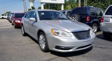 Chrysler 200 2012 Silver
