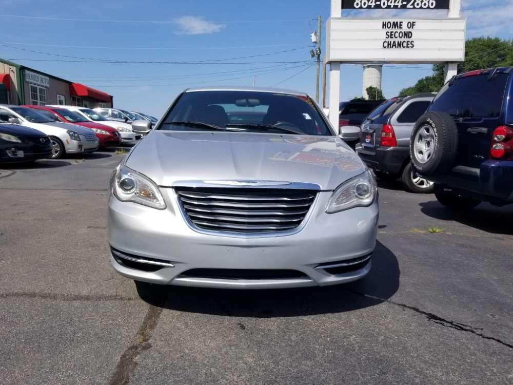 Chrysler 200 2012 Silver