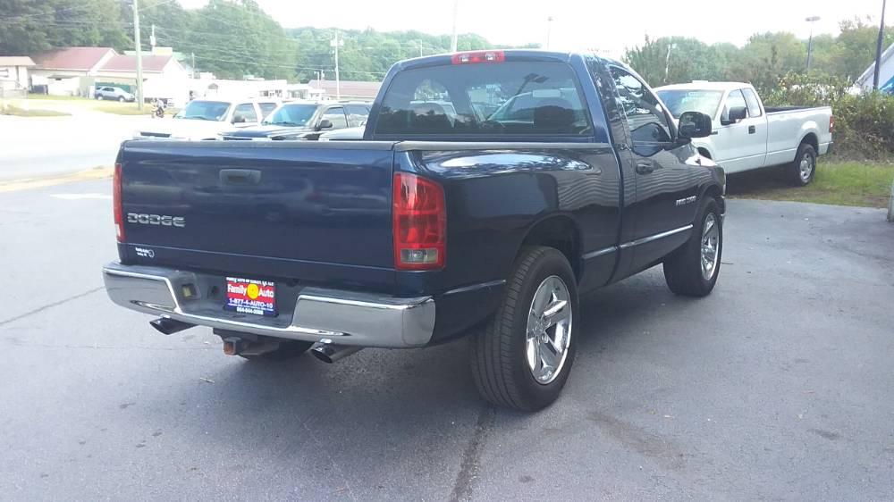 Dodge Ram 2003 Blue