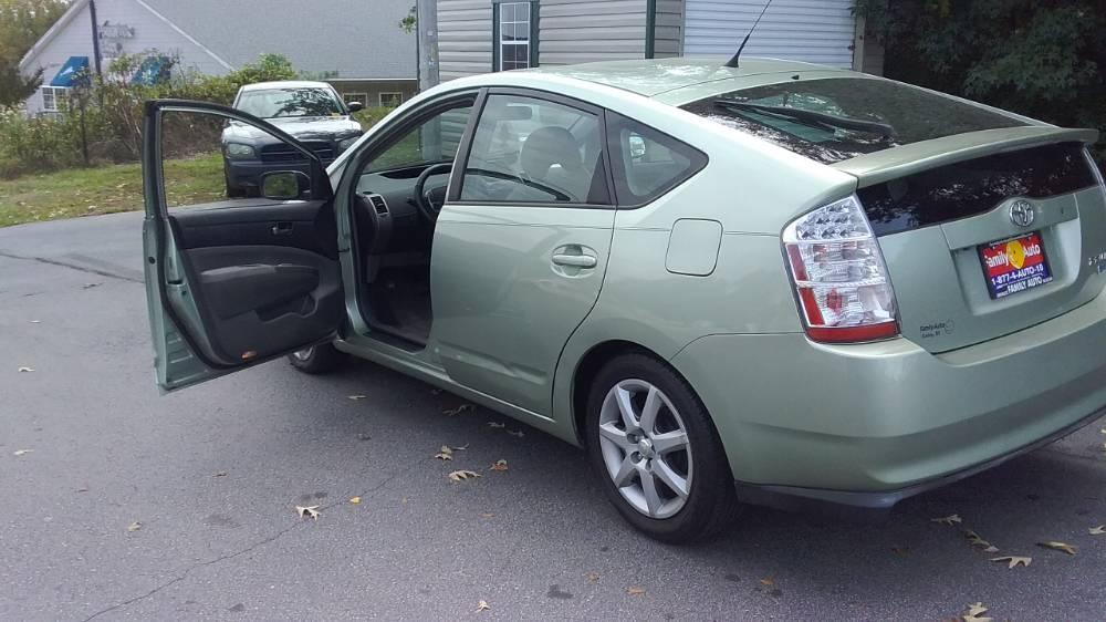 Toyota Prius 2007 Mist green