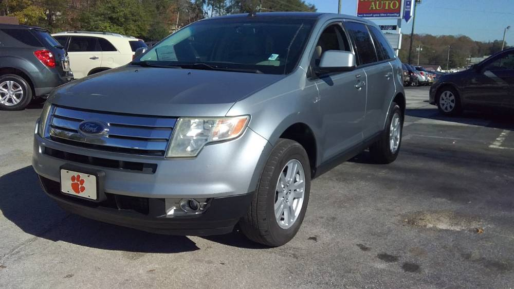 Ford Edge 2007 Silver metallic