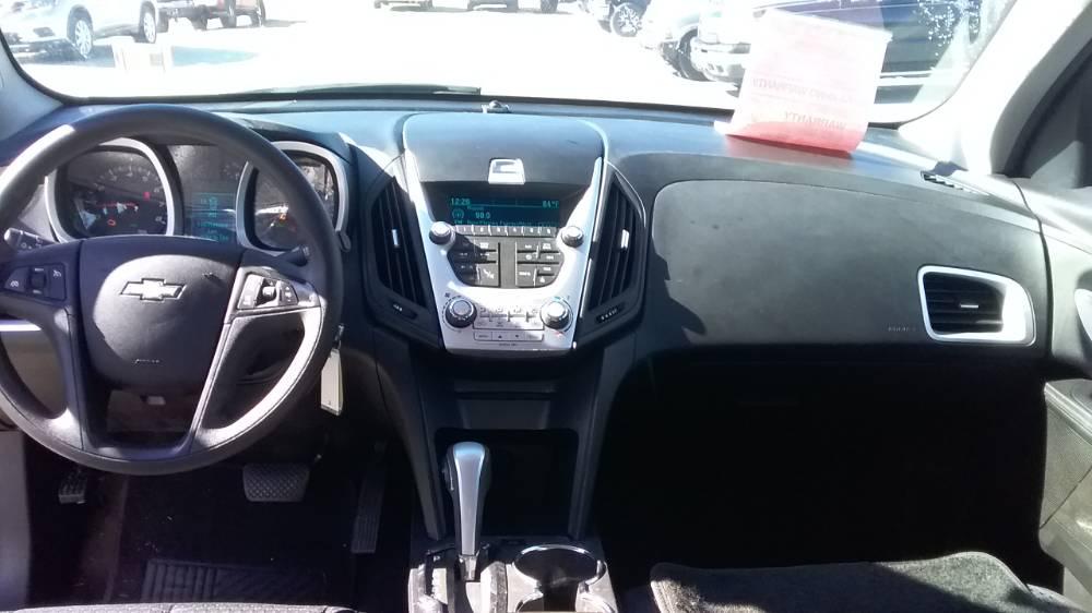 Chevrolet Equinox 2012 Silver