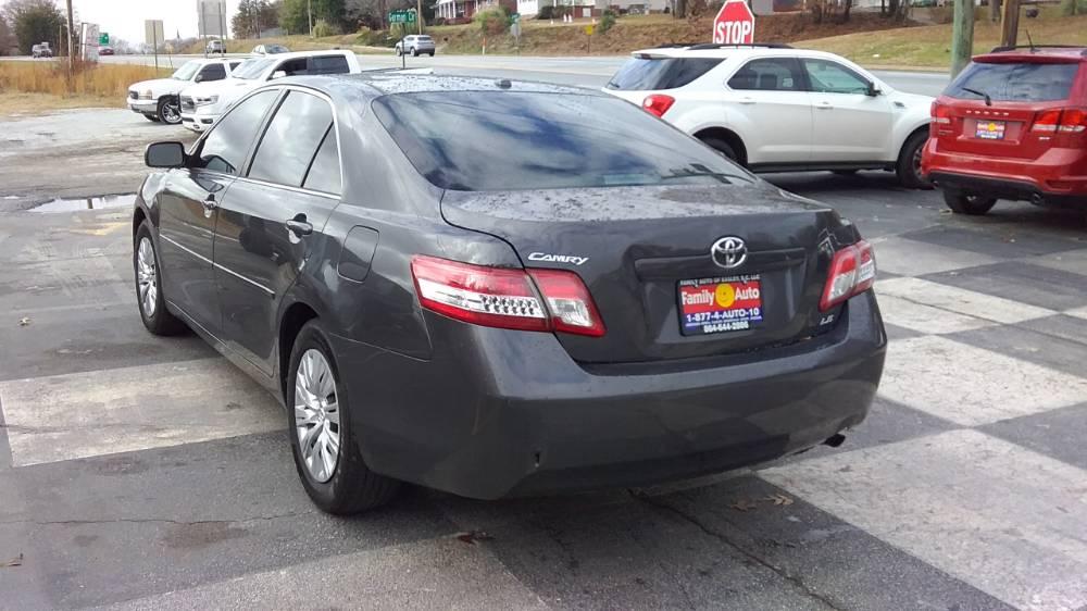 Toyota Camry 2010 Gray