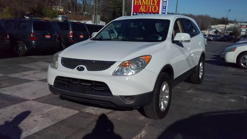 Hyundai Veracruz 2007 White