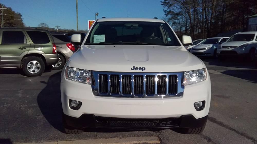 Jeep Grand Cherokee 2011 White