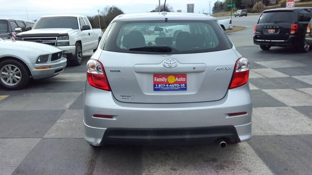 Toyota Corolla Matrix 2010 Silver