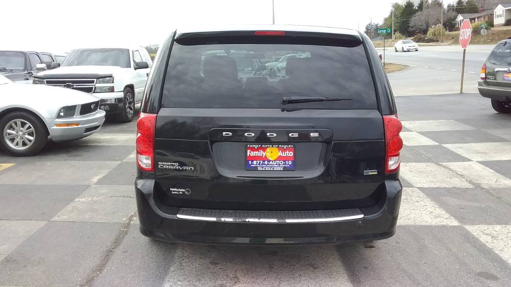 Dodge Grand Caravan 2012 Black