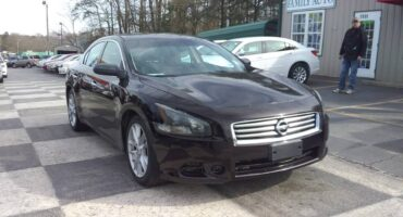 Nissan Maxima 2012 Brown