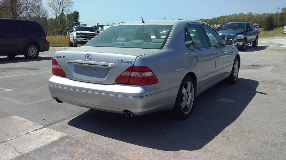 Lexus LS 2005 Silver