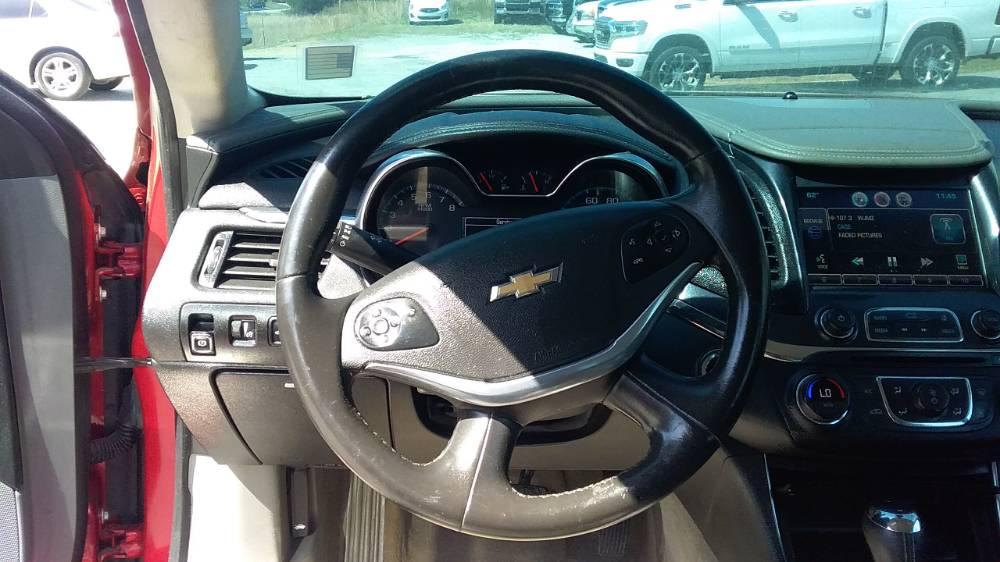 Chevrolet Impala 2014 Red