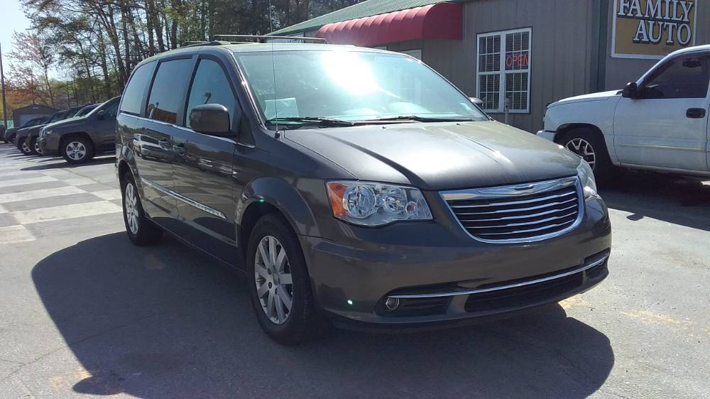 Chrysler Town & Country 2015 Gray