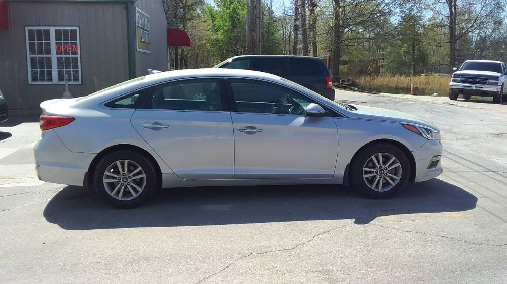 Hyundai Sonata 2015 Silver