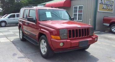 Jeep Commander 2006 Maroon