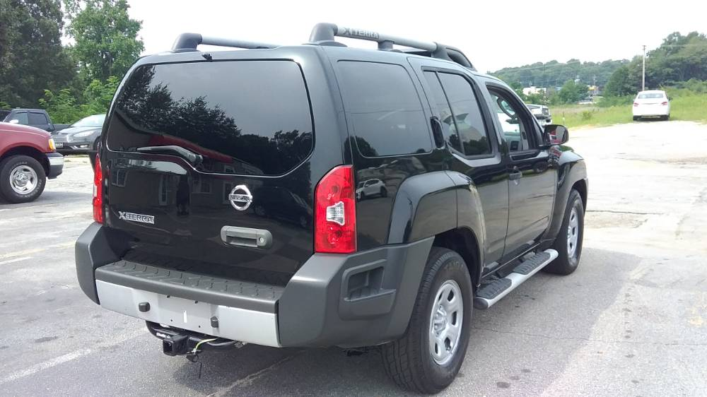 Nissan Xterra 2011 Black