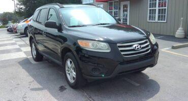 Hyundai Santa Fe 2012 Black
