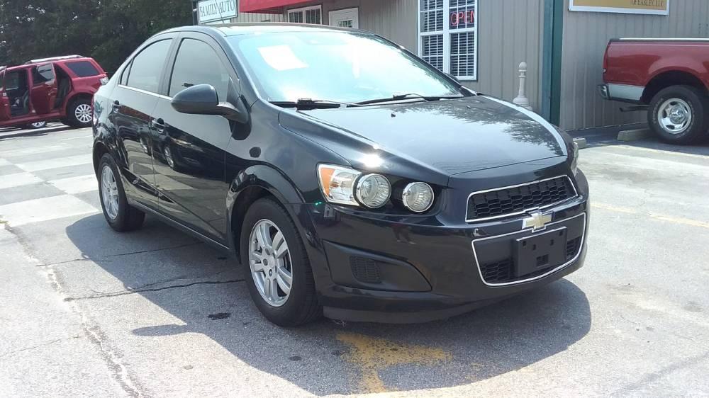 Chevrolet Sonic 2015 Black